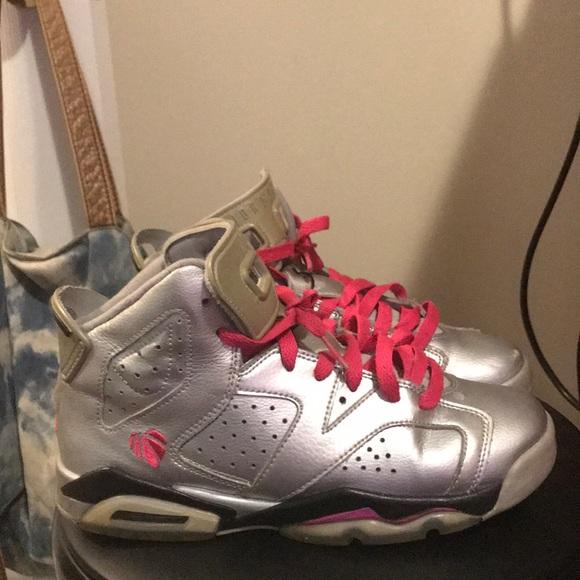 Jordan Shoes | Jordan Valentine 6s Pink